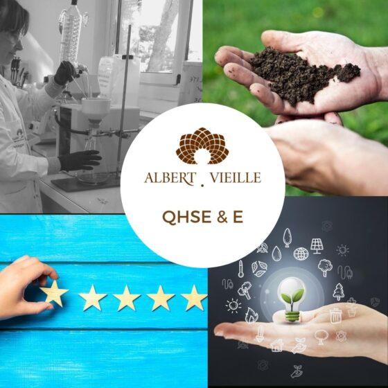 La politique QHSE-E d'Albert Vieille